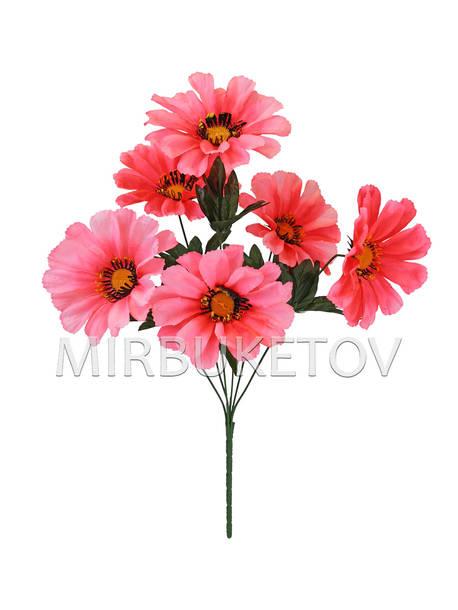 Искусственные цветы Букет Герберы, 7 голов, 480 мм