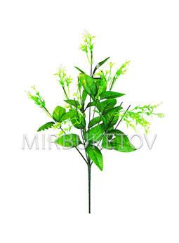 Ножка на 9 голов с листьями и добавками, 460 мм
