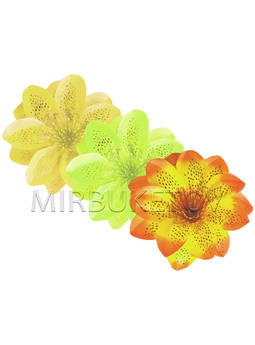 Искусственный цветок Крокуса, атлас, микс, 120 мм