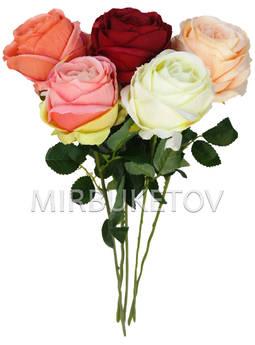 Искусственная роза на ножке, 710 мм, Lx0498-1