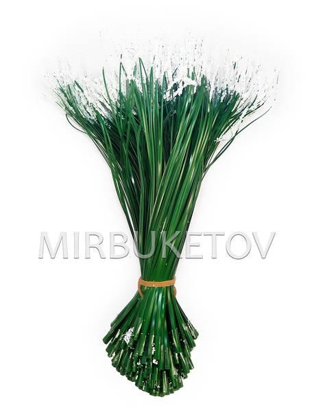 Добавка травка c белым напылением, 180 мм