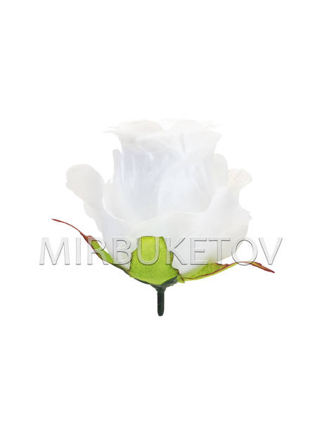 Бутон искусственной розы, атлас, 95 мм