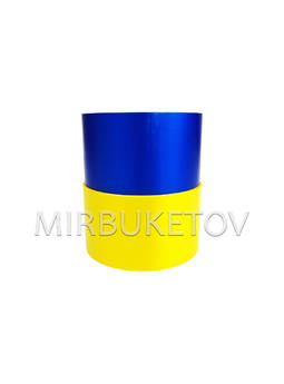 "Лента для оформления ""Флаг Украины"", 50 мм, 50 ярд"