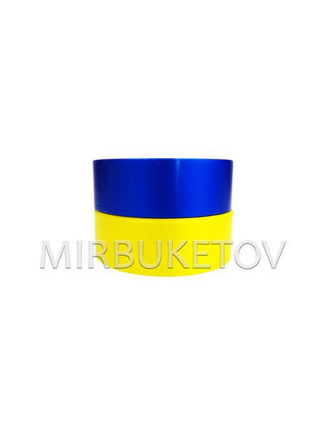 "Лента для оформления ""Флаг Украины"", 30 мм, 50 ярд"