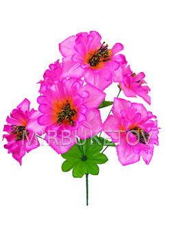 Искусственные цветы Букет Турецкого Нарцисса, 6 голов, 470 мм