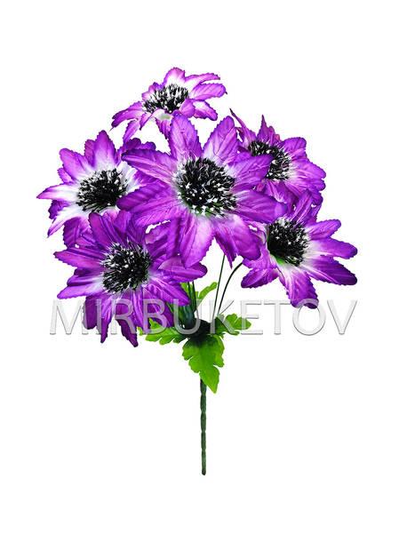 Искусственные цветы Букет Хризантемы, 6 голов, 480 мм