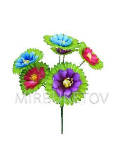 Искусственные цветы Букет Лилии, 6 голов, 320 мм