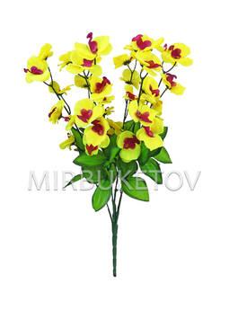 Искусственные цветы Букет Орхидеи, 36 голов, 530 мм