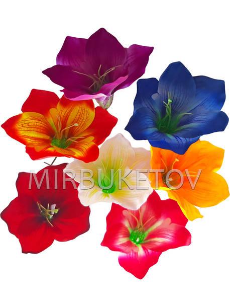 Искусственные цветы Лилии, шелк, 190 мм