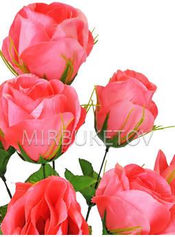 Искусственный букет Роз, 8 голов, 690 мм