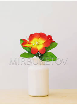 Бордюрный букет Орхидеи, 5 голов, 240 мм