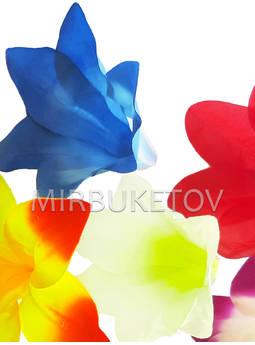 Цветок искусственной Лилии, шелк, 140 мм