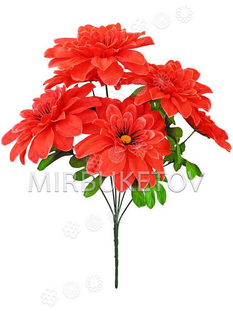Искусственные цветы Букет Хризантемы, 6 голов, 600 мм