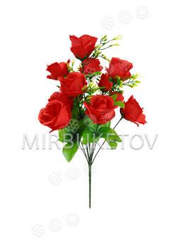 Искусственный букет Розы, 12 голов, 470 мм
