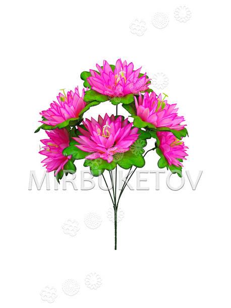 Искусственные цветы Букет Кувшинки, 6 голов, 380 мм