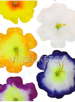 Искусственные пресс цветы со вставкой и тычинкой Лотос, 90 мм