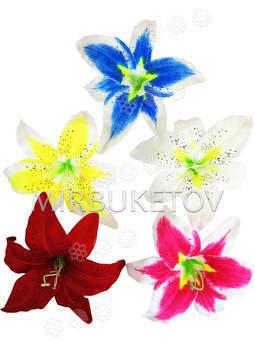 Искусственные цветы Лилии, шелк, 200 мм