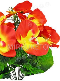 Искусственный букет Орхидеи, 13 голов, 450 мм