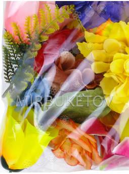 Набор искусственных цветов и листьев, микс