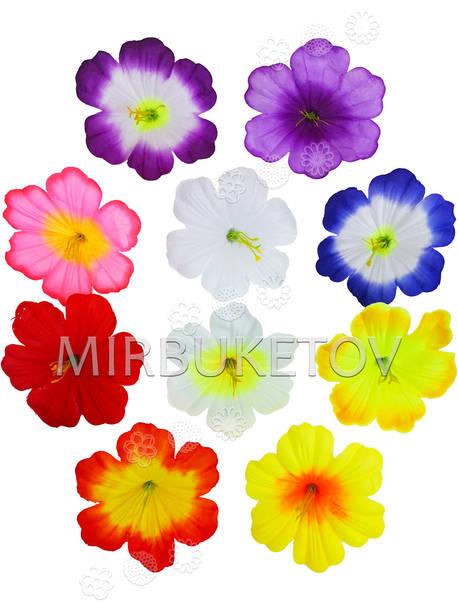 Искусственные пресс цветы с тычинкой Петуния, 120 мм