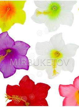 Пресс цветы с тычинкой Гибискус, 90 мм