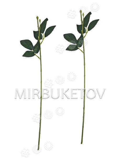 Ножка одиночная с резными листьями под розу, Люкс, 570 мм