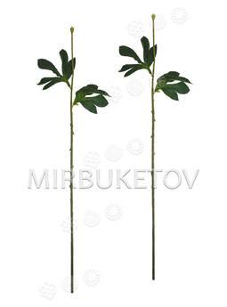 Ножка одиночная с листьями, Люкс, 620 мм