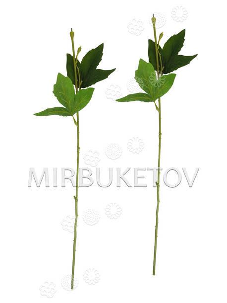 Ножка одиночная с тройными зубчатыми листьями, Люкс, 570 мм
