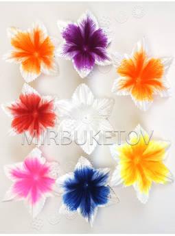 Искусственные Пресс цветы Орхидея, атлас, 140 мм