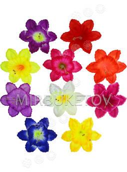 Пресс цветы с тычинкой и вставкой Нарцисс, 120 мм
