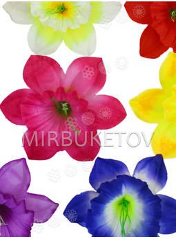 Пресс цветы с тычинкой и вставкой Нарцисс, 140 мм