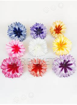 Искусственные Пресс цветы Колокольчик, атлас, 100 мм