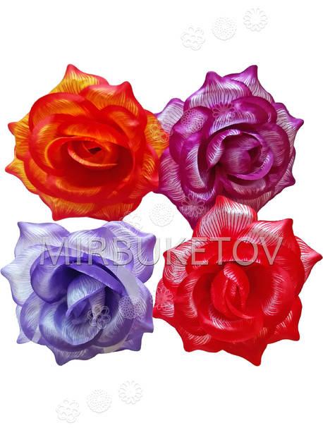 Роза открытая, атласная, 150 мм, Распродажа