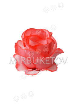 Роза бутон шелковая, 90 мм