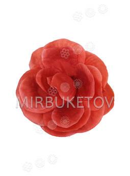 Искусственные цветы Роза открытая, шелк, 140 мм, РАСПРОДАЖА