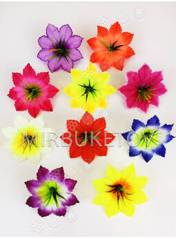 Прес цветок Лилия резная с тычинкой куст, 120 мм