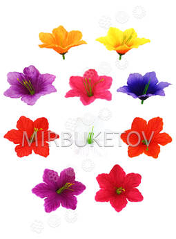 Искусственные Пресс цветы с тычинкой Лилия, 100 мм