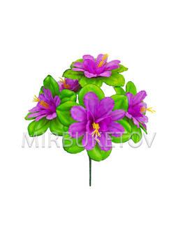 Искусственные цветы Букет Гибискуса, 6 голов, 340 мм