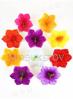 Искусственные Пресс цветы с тычинкой Лилия, 105 мм