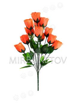 """Букет искусственной розы """"Черкассы"""", 12 голов, 515 мм"""
