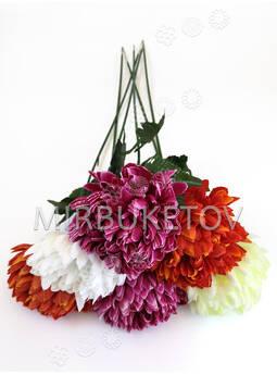 Искусственные цветы Премиум Хризантема на ножке, 730 мм