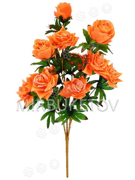 Искусственные цветы Букет Розы VIP, 13 голов, микс, 770 мм