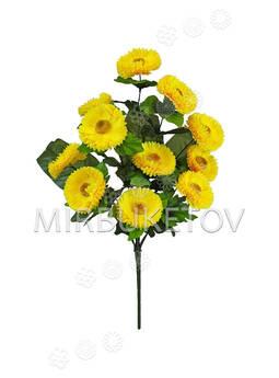 Искусственные цветы Букет Герберы, 11 голов, 500 мм