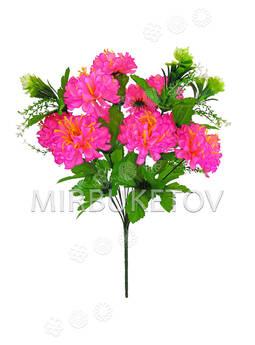 Искусственные цветы Букет Георгины, 13 голов, 470 мм