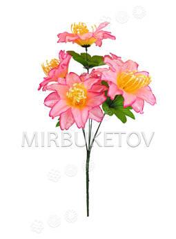 Искусственные цветы Букет Лилии, 6 голов, 570 мм