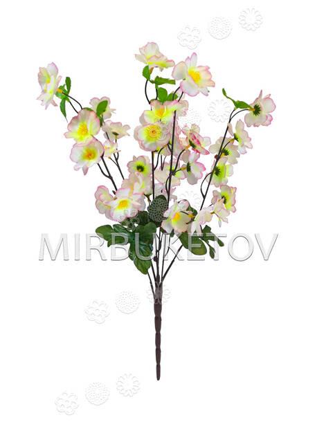 Искусственные цветы Букет Мальвы, 36 цветков, 540 мм
