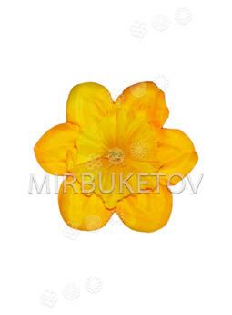 Искусственные Пресс цветы Нарцисс, шелк, 125 мм