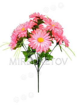 Искусственные цветы Букет Герберы, 9 голов, 520 мм