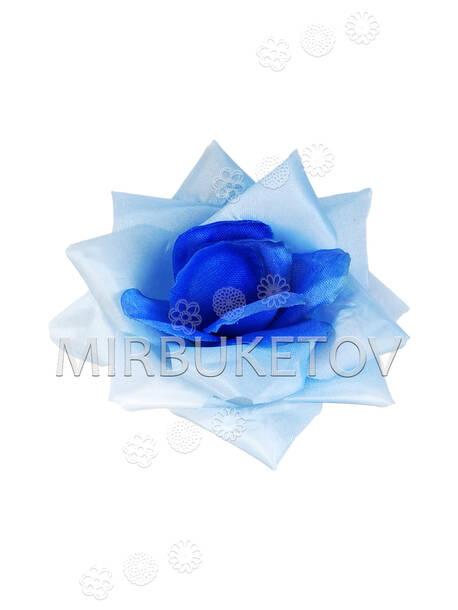 """Искусственная роза открытый бутон """"Собери сам"""", атласная, 150 мм"""