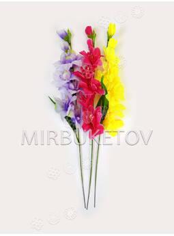 Ветка искусственных цветов Гладиолуса, 530 мм